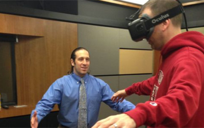 How might virtual reality change the world? Stanford lab peers into future, CBS News