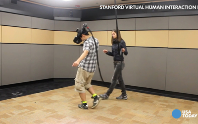 Using virtual reality to overcome fear, reduce prejudice, USA Today