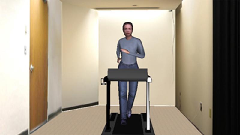 Avatar on Treadmill