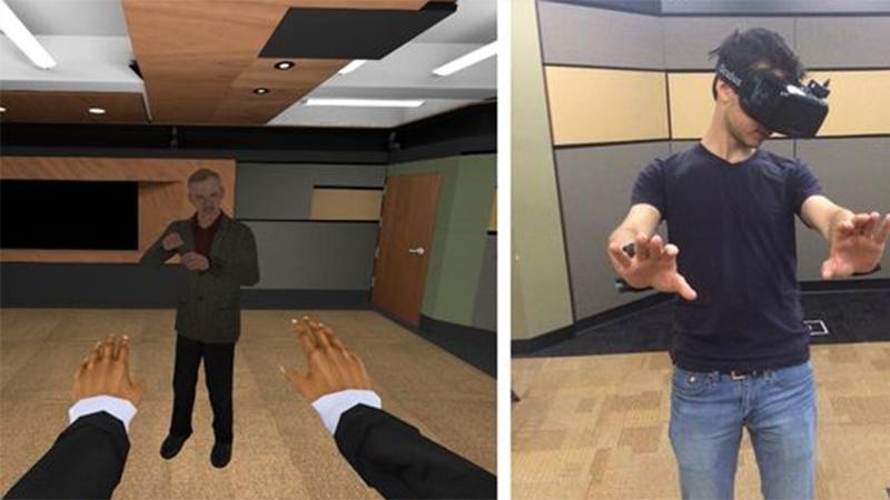 Diversity scenario in VR