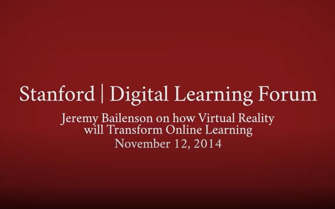 Stanford Digital Learning Forum